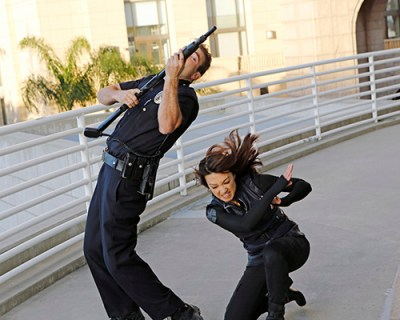 Agent Melinda May (Ming-Na Wen) takes out an assailant. Photo Credit: Bob D'Amico/ABC