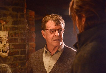 """SLEEPY HOLLOW: John Noble (L) guest-stars in """"The Sin Eater"""" episode of SLEEPY HOLLOW airing Monday, Nov. 4  (9:00-10:00 PM ET/PT) on FOX. ©2013 Fox Broadcasting Co. CR: Brownie Harris/FOX"""