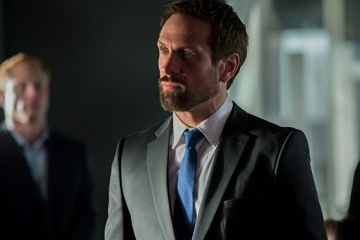 """The Tomorrow People -- """"Thanatos"""" -- Pictured: Simon Merrells as The Founder -- Photo: Jack Rowand/The CW; © 2013 The CW Network, LLC. All Rights Reserved"""