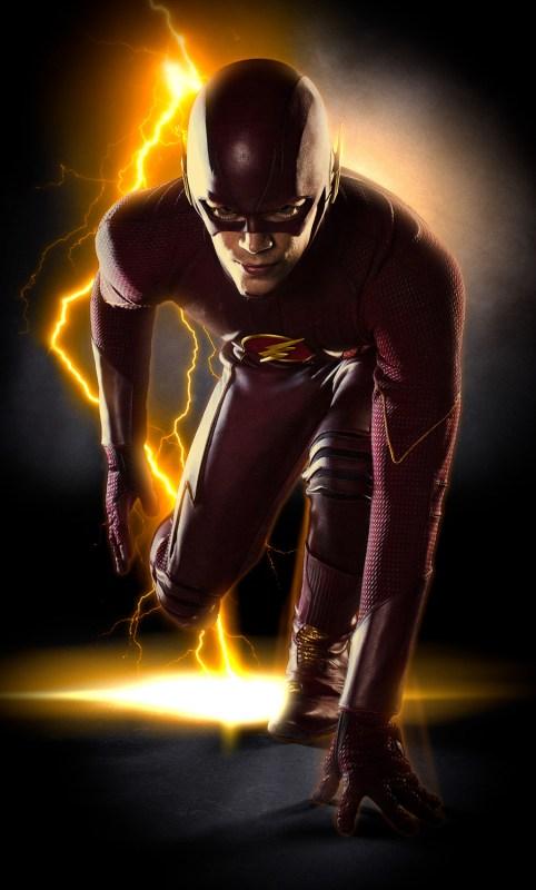 Grant Gustin as The Flash; Photo Credit: Warner Bros. TV