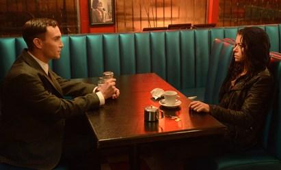 Orphan Black, Season 2, Episode 1, Mark (Ari Millen) and Sarah (Tatiana Maslany). Photo Credit: © Steve Wilkie for BBC AMERICA