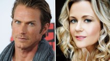 Jason Lewis and Rachael Carpani