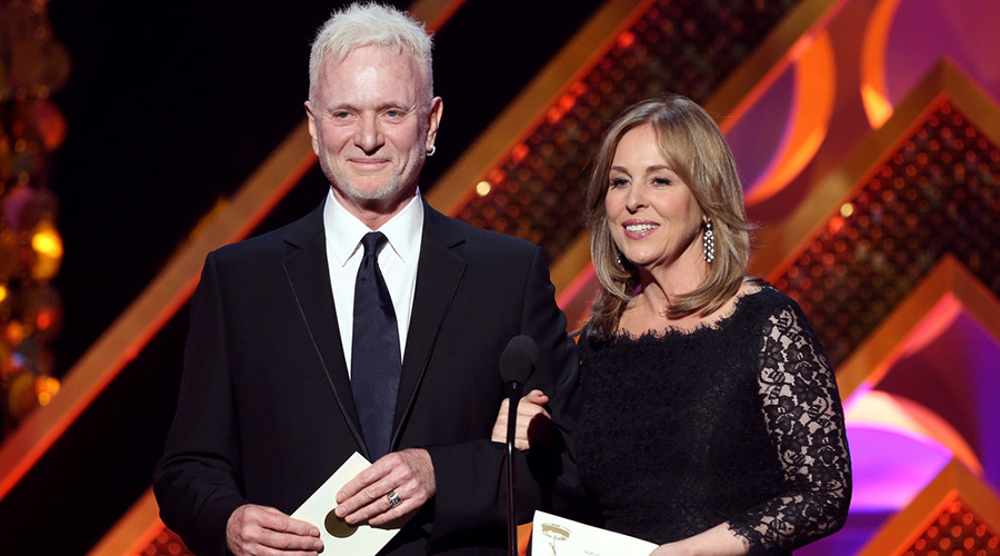 Genie Francis and Tony Geary