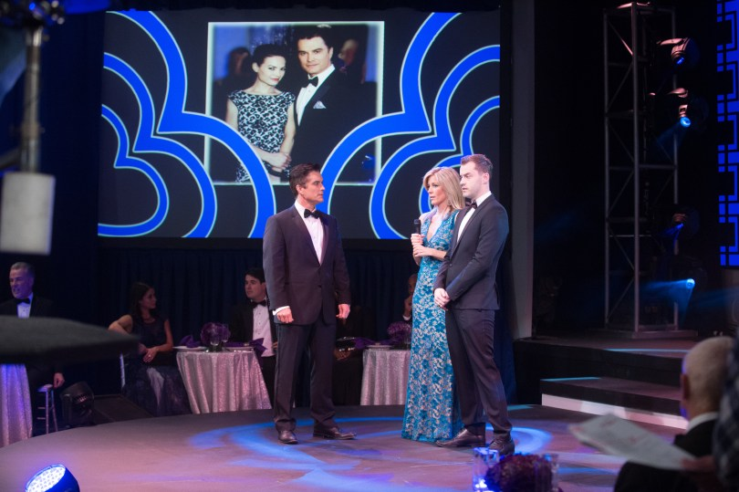 "GENERAL HOSPITAL - 2015 NURSES BALL - 3/24/15 The Nurses Ball begins airing Friday, May 1, 2015 - Tuesday, May 5, 2015 on ABC's ""General Hospital"". The Emmy-winning daytime drama ""General Hospital"" airs Monday-Friday (3:00 p.m.- 4:00 p.m., ET) on the ABC Television Network. GH15, Episodic (ABC/Todd Wawrychuk) RICK HEARST, LAURA WRIGHT, EDIN GALI"