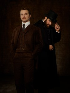 """TIME AFTER TIME - ABC's """"Time After Time"""" stars Freddie Stroma as H.G. Wells and Josh Bowman as John Stevenson. (ABC/Bob D'Amico)"""
