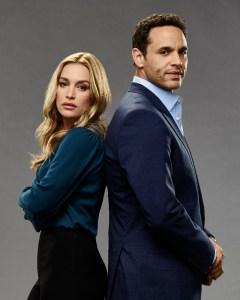 "NOTORIOUS - ABC's ""Notorious"" stars Piper Perabo as Julia and Daniel Sunjata as Jake. (ABC/Kevin Foley)"