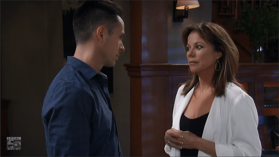 Julian and Alexis' marriage reaches a breaking point.