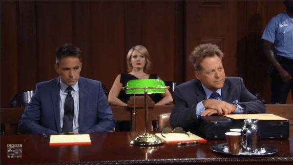 Julian's trial began.