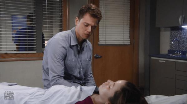 Michael is devastated by Sabrina's murder.