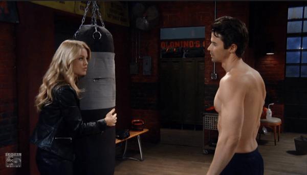 Claudette attempts to seduce Griffin.