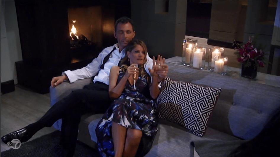 Nina and Valentin enjoy the honeymoon suite at the Metro Court.