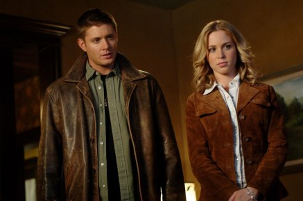 Jensen Ackles (Sam) and Amy Gumenick as Young Mary. Photo Credit: The CW Network, LLC. All Rights Reserved.