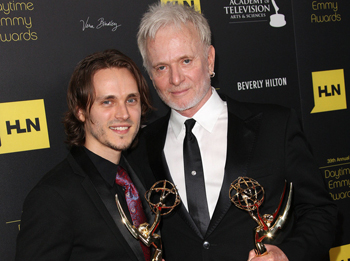Pictured: Jonathan Jackson and Tony Geary