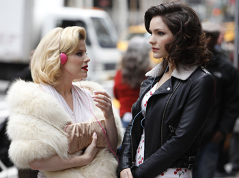 Megan Hilty and Katharine McPhee