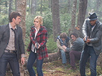 Pictured: (l-r) Eric Balfour as Duke Crocker, Lucas Bryant as Nathan Wuornos
