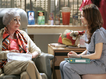GH Video Clip: Michael Learned and Rebecca Herbst's First Scenes