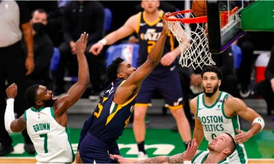 Boston, Celtics, Utah, jazz, rebounds, points