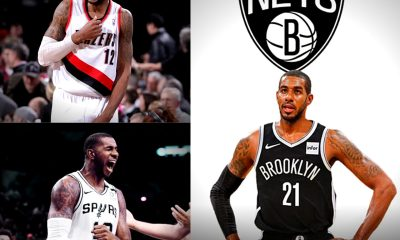 LaMarcus Aldridge, Aldeidge, nets, spurs, Portland, trailblazer, San Antonio Spurs