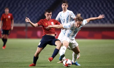 Spain Argentina Soccer