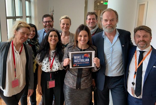 Industry delegation lobbies for local content in Canberra
