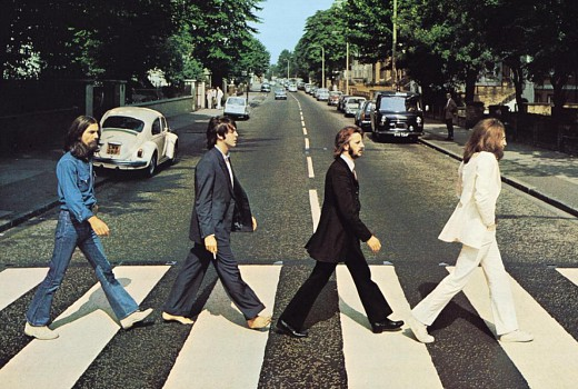 Today to celebrate Abbey Road's 50th anniversary