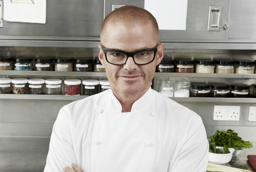 Heston Blumenthal.