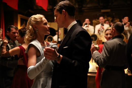 Picture shows: Kate Bosworth as Barbara Barga and Sam Riley as Douglas Archer