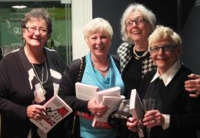 Sheila Kennelly, Lynn Rainbow, Carole Raye and Wendy Blacklock