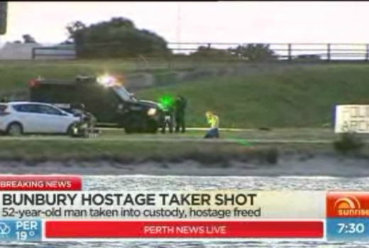 Sunrise upstages Today in breaking news of WA siege – TV Tonight