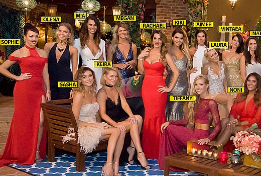The bachelor meet the ladies
