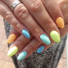 Nice colorful summer nails