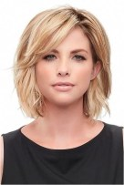 1 layered blonde short haircut source headcovers.com
