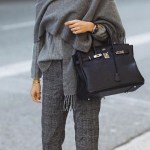 Casual monochromatic outfit ideas for fall