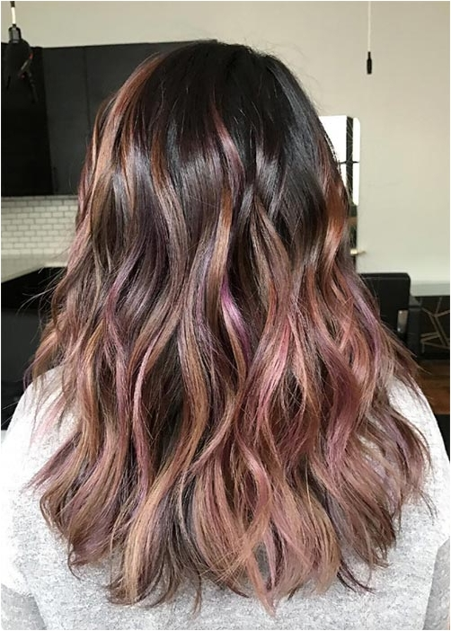 Chocolate mauve hair colors source fashioniseres.com