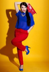 Color block outfit combinations are for stylish women