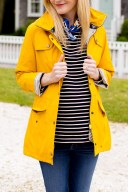 Barbour trevose jacket, sperry topsiders and ann taylor scarf