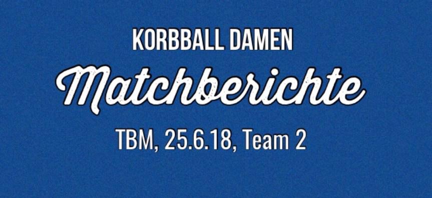 Korbball Damen: 3 weitere Punkte fürs Team 2