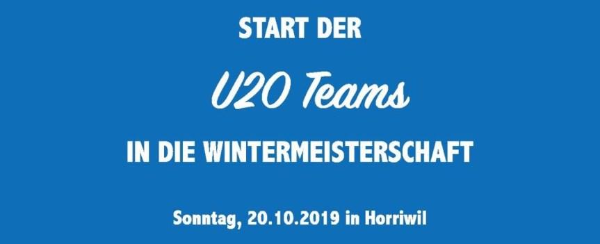 Korbball Damen: Start der U20 Teams in die Wintermeisterschaft 19/20
