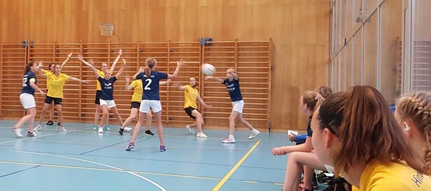 Korbball Damen: 2. Runde U21 kantonale Meisterschaft, Di.7.9.21