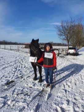Peggy Unger mit Pferd 1111