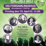 Dansk Top Scenen april 2016 - TV Vestsjælland