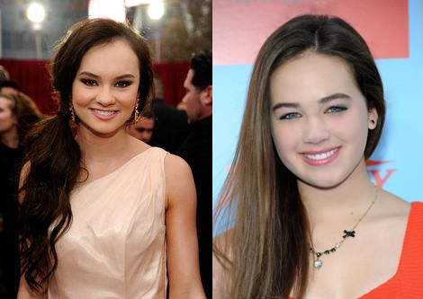 Madeline Carroll and Mary Mouser