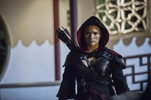 Pictured: Katrina Law as Nyssa al Ghul -- Photo: Cate Cameron/The CW
