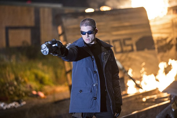 """The Flash -- """"Going Rogue"""" Pictured: Wentworth Miller as Leonard Snart -- Photo: Cate Cameron/The CW"""