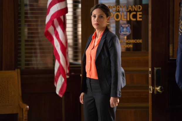 Pictured: Elizabeth Rodriguez as Special Agent Chavez -- (Photo by: Scott Green/NBC)
