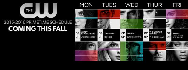 CW Fall 2015 schedule