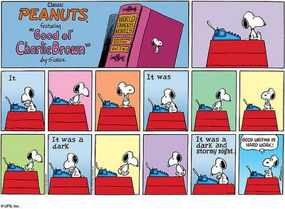 snoopy-good-writing-is-hard-work