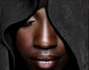 black_woman_face-in-hood