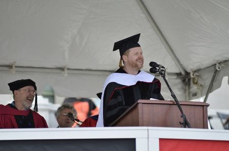 Joss Whedon and his Wesleyan Commencement Speech