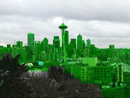 """Some people call Seattle """"Emerald City."""" I call it Bob."""